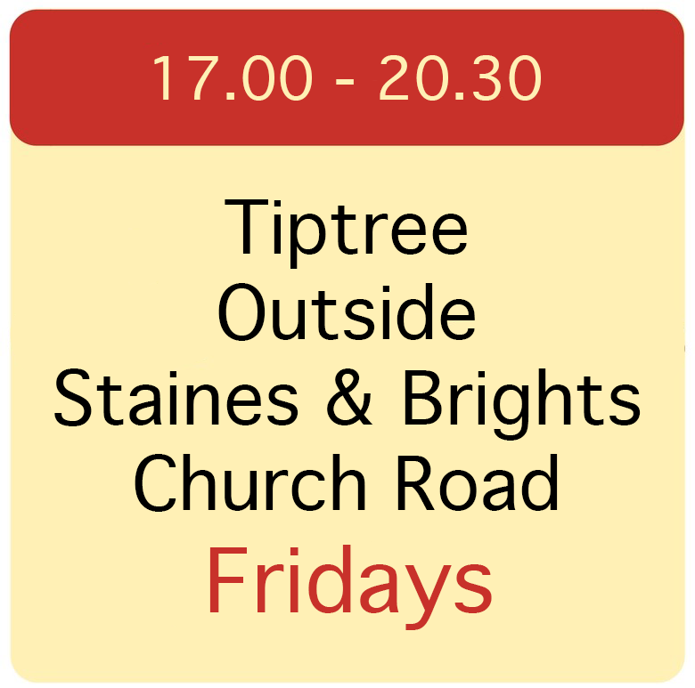 Tiptree, Staines and Brights, Church Road.